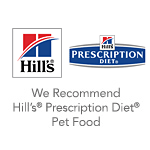 badges and logos - we recommend hillspet prescription diet food